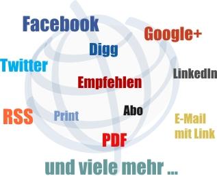 Vereinszeitungen im Internet Verbreitung
