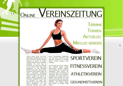 Online-Vereinszeitung Beispiel