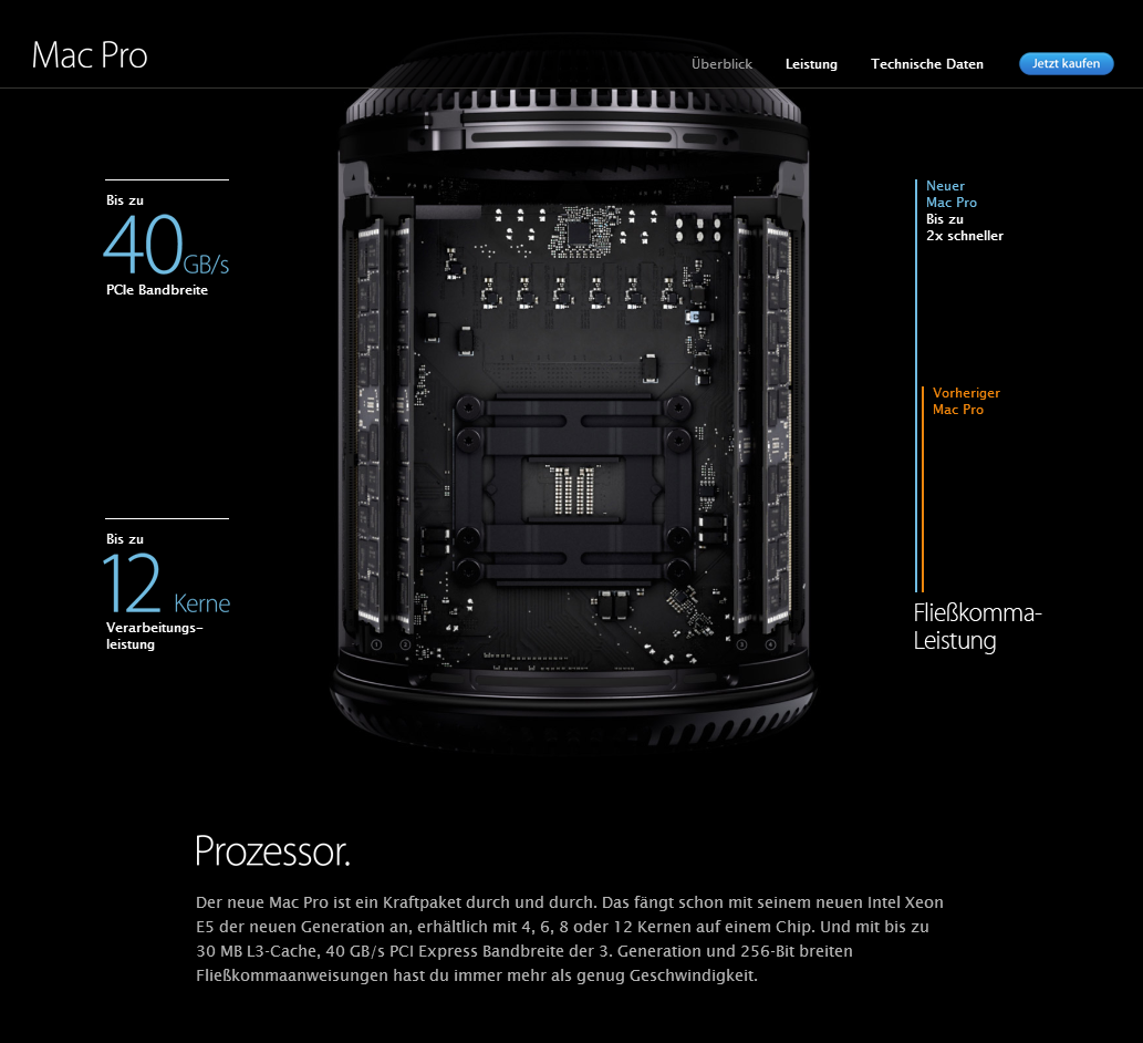 Scrollytelling Apple MacPro Scollbereich 3