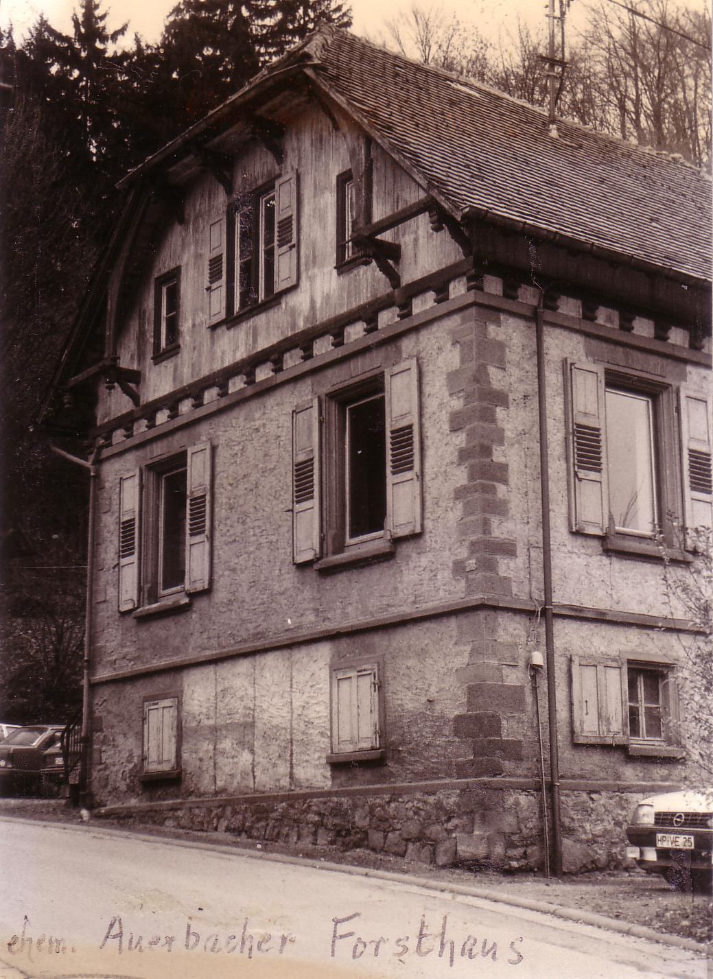 De Hochstädter Neues und Wissenswertes aus Hochstädten Revierförster Karl Brück