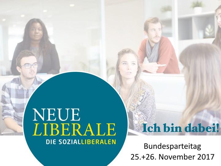 Neue Frankfurter Laterne Zweite Ausgabe Bundesparteitag Neue Liberale am 25.-26.11.2017