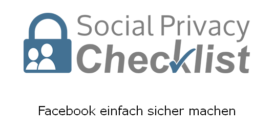 Social Privacy Checklist 2013 Der Kommunikative Privatsphäre-Einstellungen