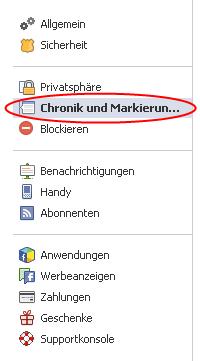 Social Privacy Checklist 2013 Enger Kern Privatsphäre-Einstellungen