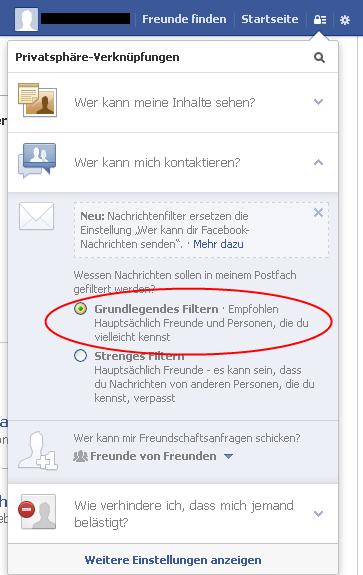 Social Privacy Checklist 2013 Der Kommunikative Wessen Nachrichten sollen in meinem Postfach