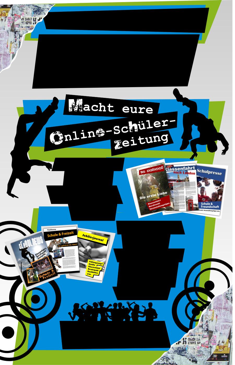 Schülerzeitung Eure eigene Online-Schülerzeitung Online-Schülerzeitung