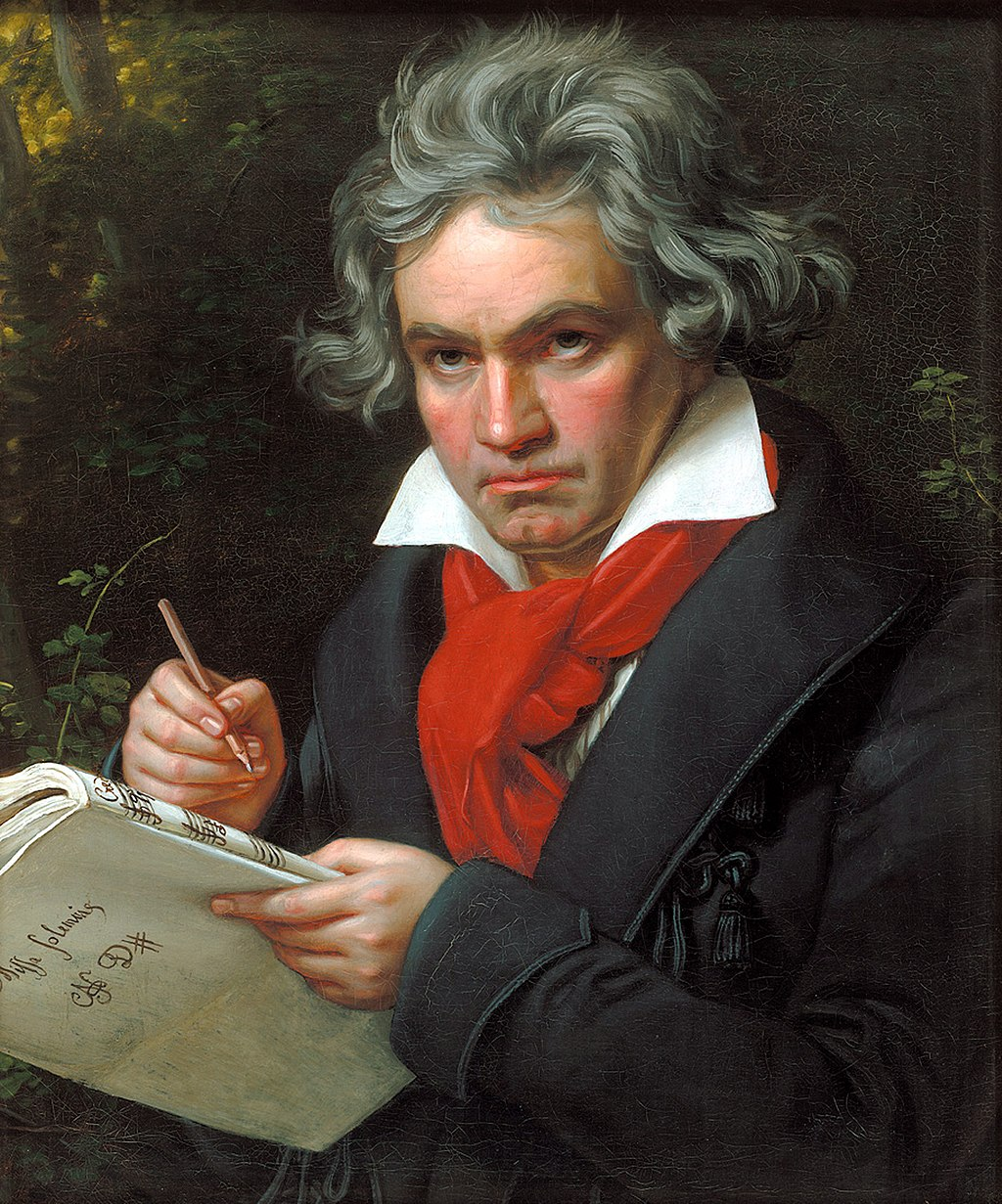 Musik-Zeitung  Ludwig van Beethoven Erste Seite
