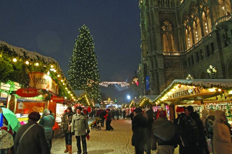 abc markets News 01 Der Wiener Christkindlmarkt