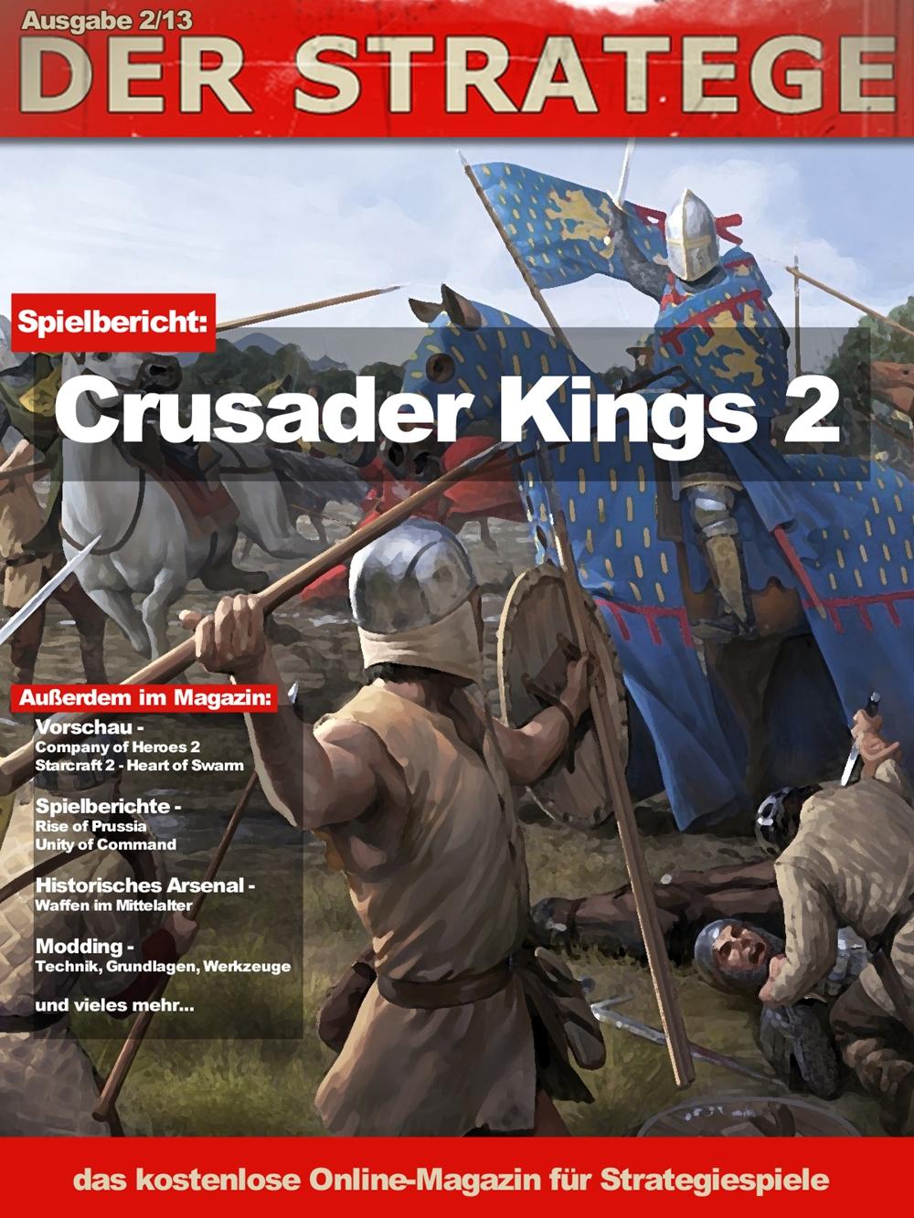 Der Stratege - Ausgabe 2/13 Titelseite