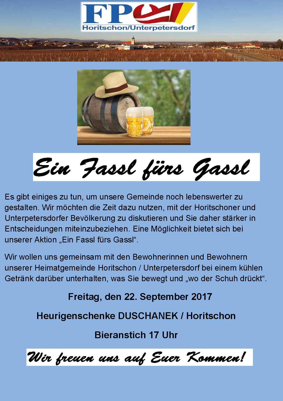 FPÖ Gemeindekurier 03/2017 Fassl Fürs Gassl